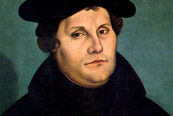 Martin Luther portresi.
